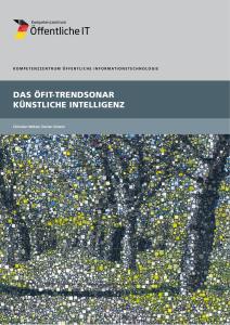 Titelbild der Publikation Das ÖFIT-Trendsonar Künstliche Intelligenz
