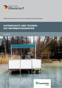 Titelbild der Publikation Datenschutz und Technik - Ein Informationspapier