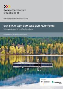 Titelbild der Publikation Der Staat auf dem Weg zur Plattform