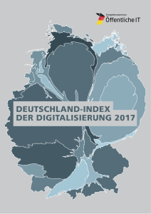 Titelbild der Publikation Deutschland Index der Digitalisierung
