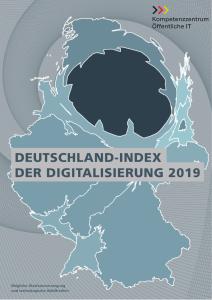 Titelbild der Publikation Deutschland-Index der Digitalisierung 2019