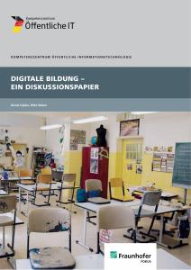 Titelbild der Publikation Digitale Bildung - Ein Diskussionspapier