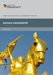 Titelbild der Publikation Digitale Souveränität