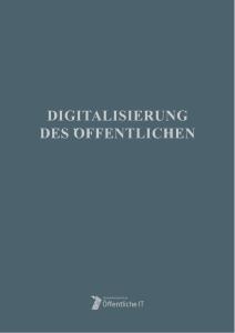 Titelbild der Publikation Digitalisierung des Öffentlichen