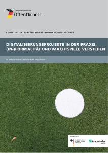 Digitalisierungsprojekte in der Praxis