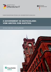 Titelbild der Publikation E-Government in Deutschland