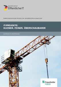 Titelbild der Publikation IT-Projekte kleiner feiner überschaubarer