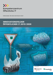 Titelbild der Publikation Innovationsfelder Öffentlicher IT 2019 2020