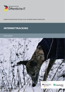 Titelbild der Publikation Internettracking
