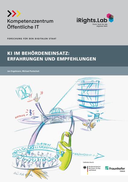 Titelbild der Publikation KI im Behördeneinsatz - Erfahrungen und Empfehlungen