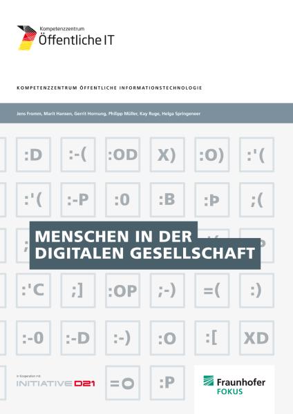 Titelbild der Publikation Menschen in der digitalen Gesellschaft
