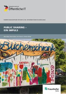 Titelbild der Publikation Public Sharing – Ein Impuls