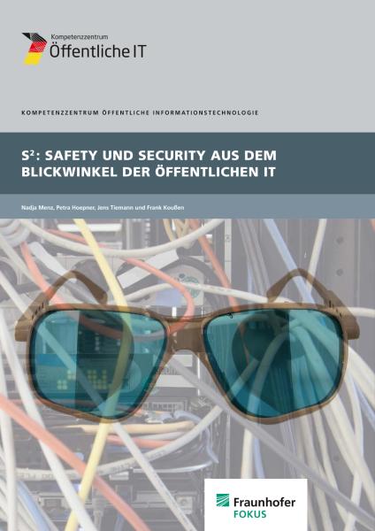 Titelbild der Publikation Safety und Security aus dem Blickwinkel der öffentlichen IT