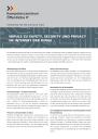 Titelbild Safety, Security und Privacy im Internet der Dinge