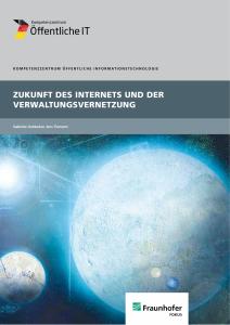 Titelbild der Publikation Zukunft des Internets und der Verwaltungsvernetzung